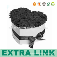 Alibaba Packaging Paper Custom Printed Flower Box